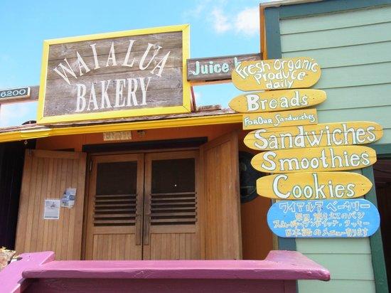 Waialua Bakery : 外観