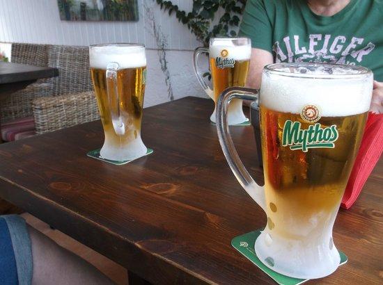 Soraya: cold beer its here