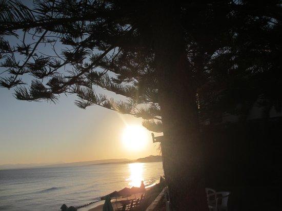 Stalos, Yunanistan: Sonnenaufgang