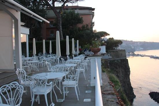 Grand Hotel Riviera : hotel balcony