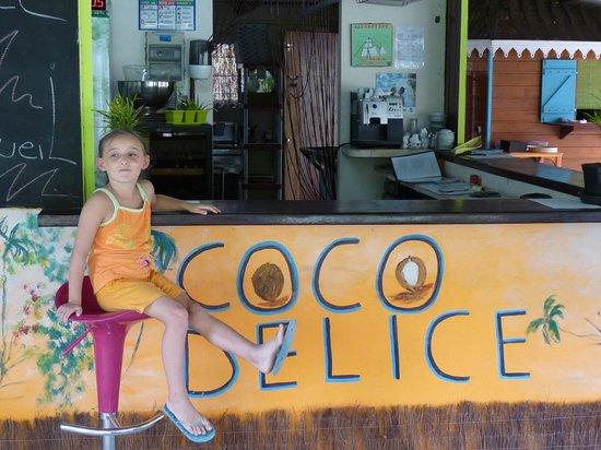 Coco Delice : Tessa a adoré le menu enfant tellement bon et en plus de la place pour s'amuser