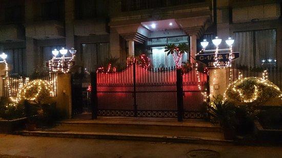 Surya Palace: Diwali decor