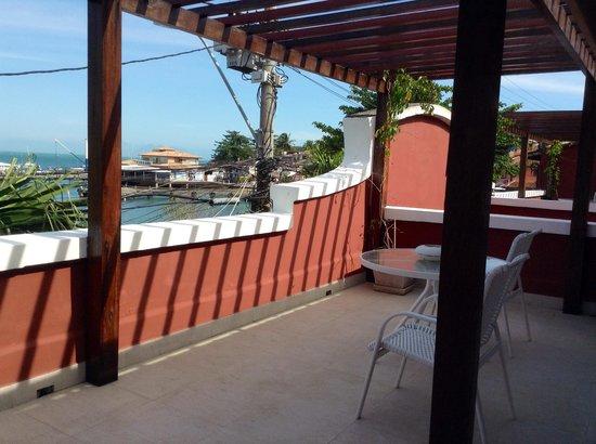Mata Hari Apartamentos: Vista del balcón