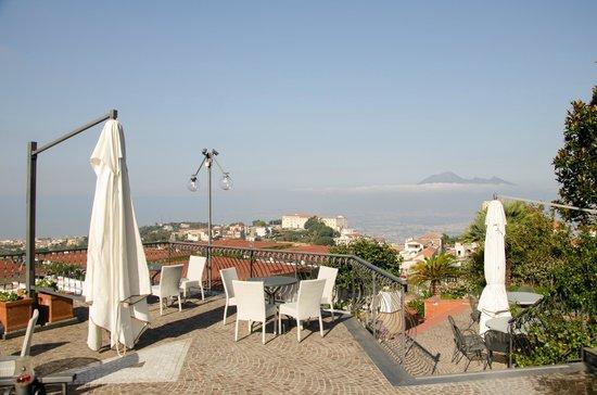 La Canonica: Terrace