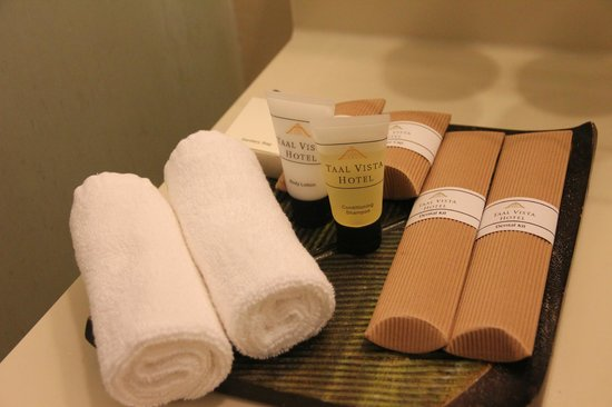 Taal Vista Hotel: Toiletries