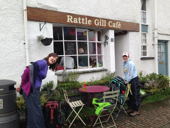 Rattle Ghyll Cafe: Cafe front