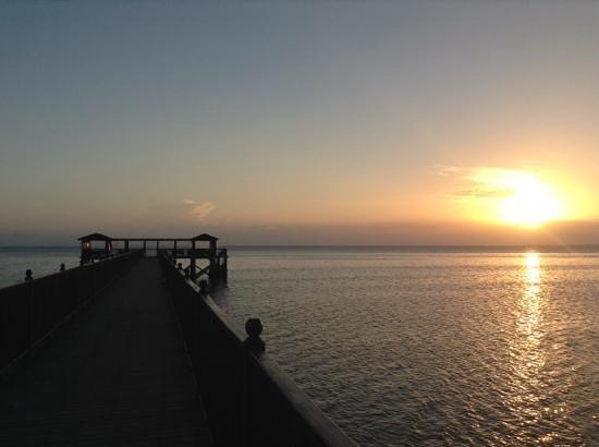 The Residence Zanzibar: la jetee au coucher du soleil