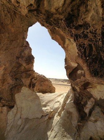 Bahariya (Bahereya) Oasis : Montaña de cristal