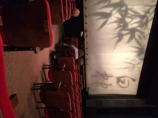 McCarter Theatre Center: McCarter Theater showing comfortable seats in orchestra section and stage