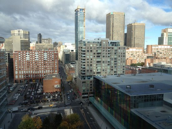 InterContinental Montreal : View from room 1522
