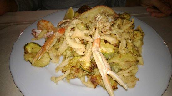 Il consolare: Fritto misto con zucchine