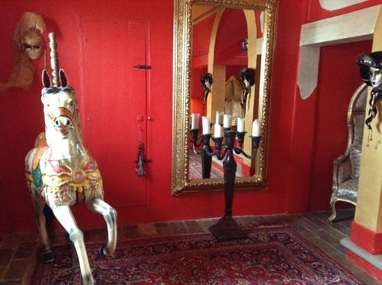 Villa Barocco : ingresso