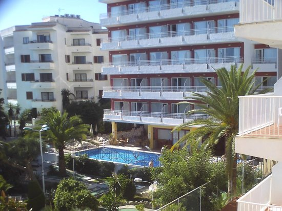 Hotel Tropico Playa: veiw from room 308