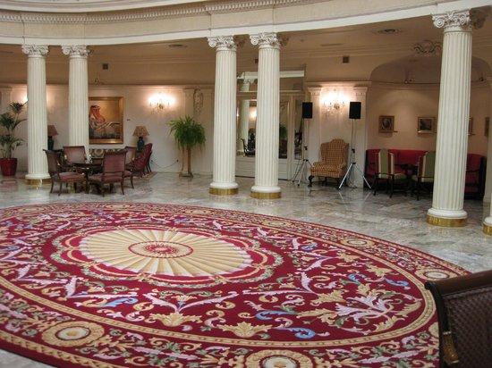 Carlton Hotel: hall impresionante