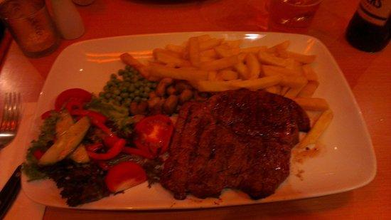 Barbican Steakhouse: Half a calf