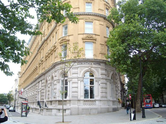 Corinthia Hotel London: The outside of the magnificent Corinthia Hotel