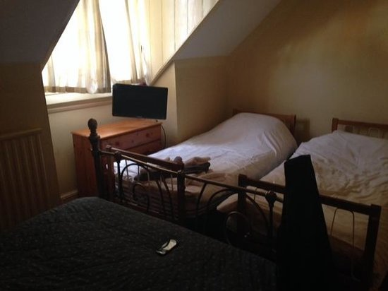 The Saracens Head Hotel: Overview of the room