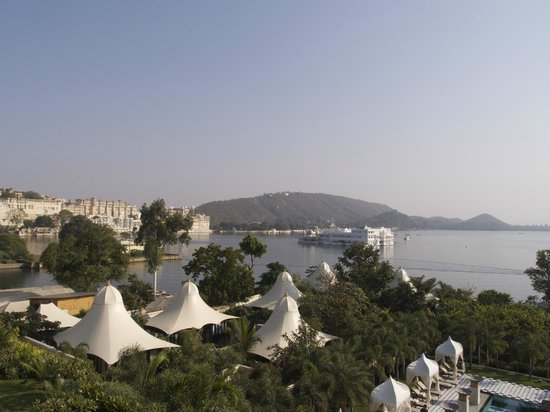 The Leela Palace Udaipur: View from our room