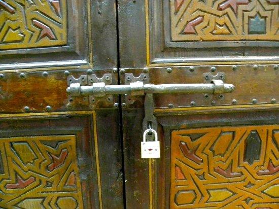 Dar Ourika : chiusura della camera