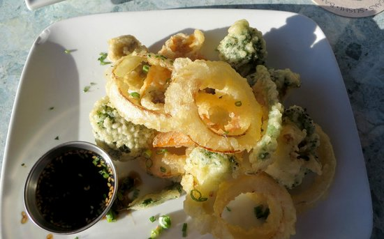 Mahé : Vegetable tempura