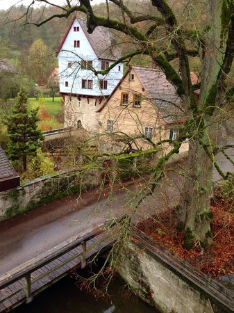 Pension Fuchsmuehle: Вид из окна