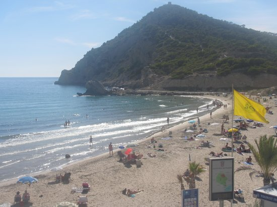 Hotel La Cala: The view from our room