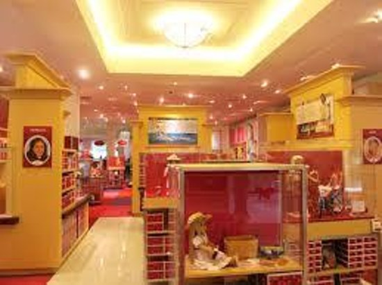 American Girl Place: Historicals-our favorite part of AG