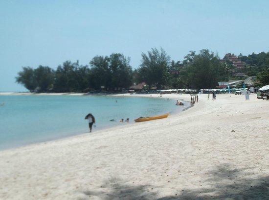 O Soleil Bungalow: plage collée au bungalows