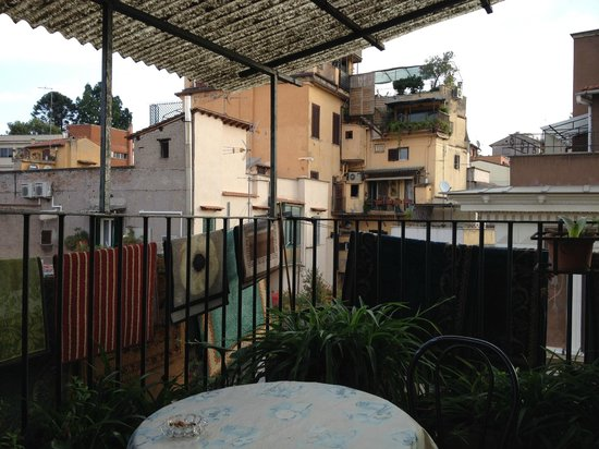 """Hotel Grifo: The view from the """"patio"""""""