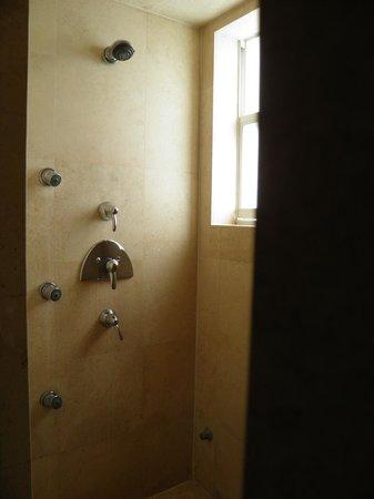 Hotel St. Augustine: doccia sauna ampia ed efficace