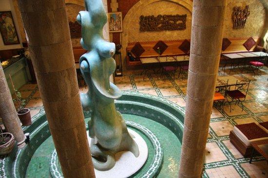 Riad Al Khansaa : la fontaine intérieure