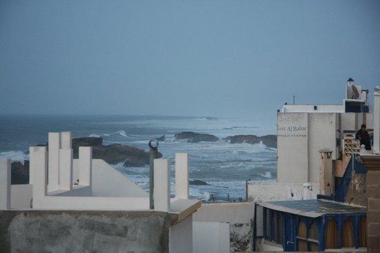 Riad Al Khansaa : vue de la terrasse