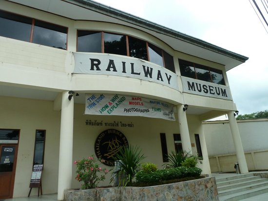The Thailand-Burma Railway Centre : Front of Museum