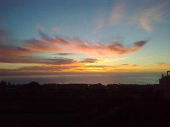 Venta Victoria: Casares sunset