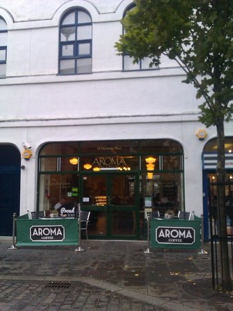 aroma cafe in bridgend town centre picture of aroma. Black Bedroom Furniture Sets. Home Design Ideas