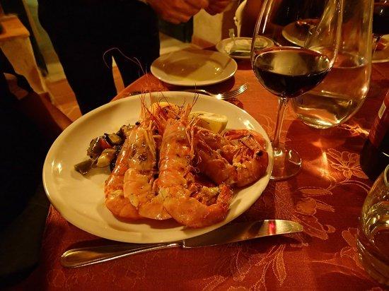 Ristorante Raffaele dell'Hotel Parsifal: Seafood