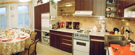B&B U Oty: Big kitchen