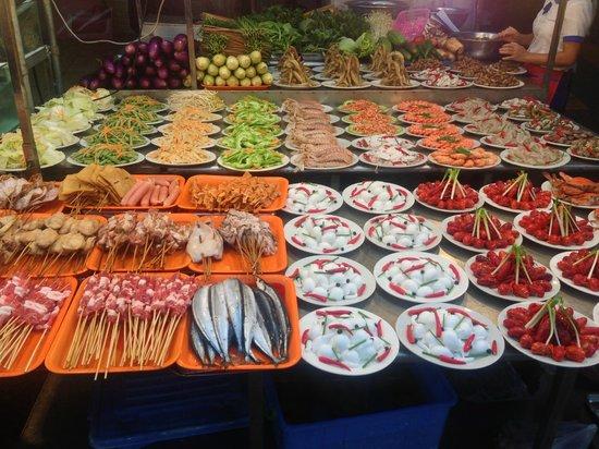 Nanning Zhongshan Snack Street
