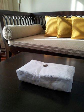 Sofitel Krabi Phokeethra Golf & Spa Resort : Laundry delivery