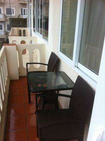 H'Mong Sapa Hotel: My balcony in room # 304.