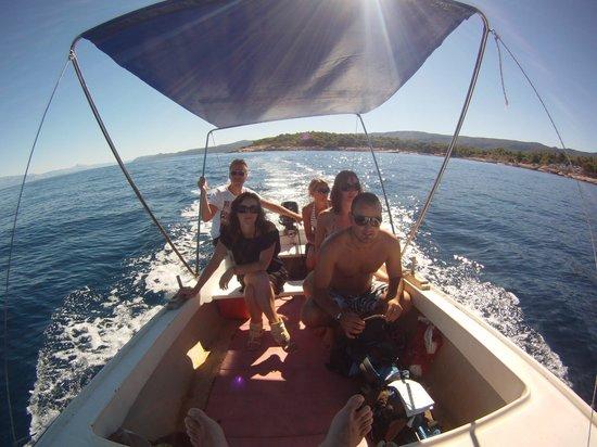 Adriatiq Resort Fontana: les boats d'antonio