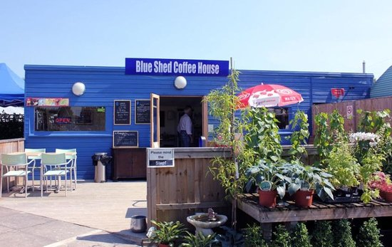 ‪The Blue Shed Coffee House‬