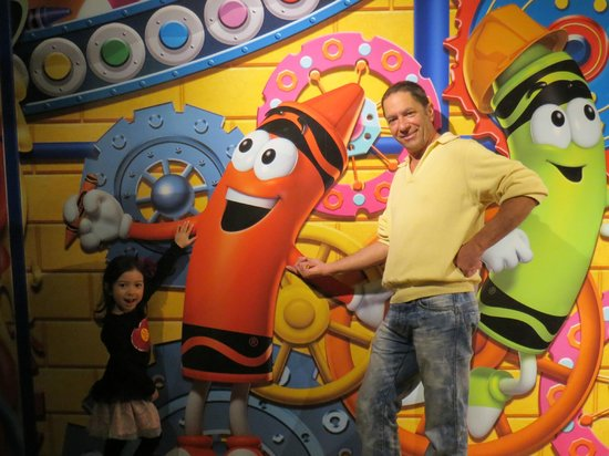 Crayola Experience : My inner child is happy !!