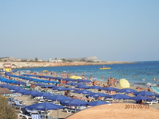 Melissi Beach Hotel & Spa : Strand