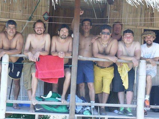 La Rica Ruca Eco-Lodge : Friends reunion