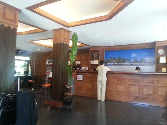 Thai House Beach Resort: reception