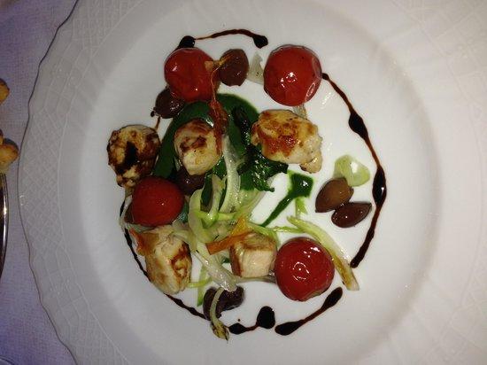 Terzo Crotto : Кролик с помидорами конфи
