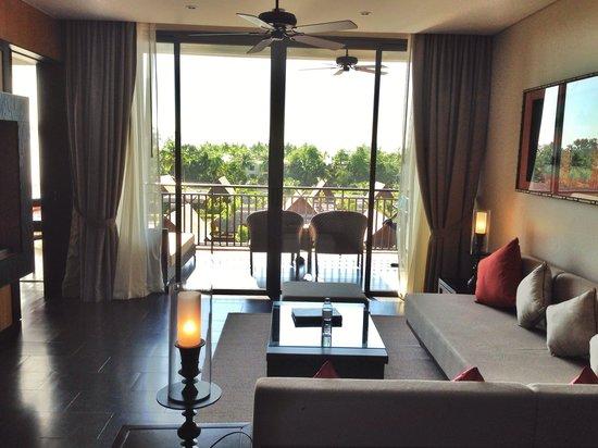 Anantara Vacation Club Mai Khao Phuket : Spacious comfortable living room