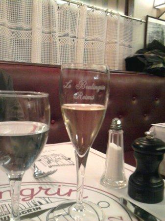 La Brasserie du Boulingrin: Champagne