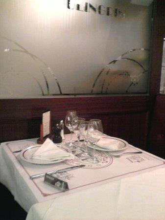 La Brasserie du Boulingrin: Table